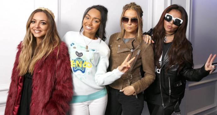 Little Mix Stops By Kiss FM Studio In London