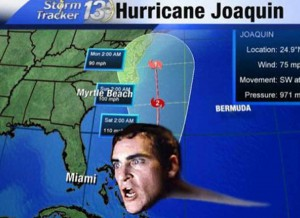 Hilarious Hurricane Joaquin Phoenix Memes Goes Viral
