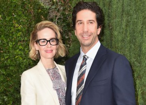 Sarah Paulson And David Schwimmer Attend Annual Rape Foundation Brunch
