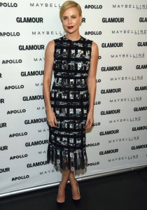 Charlize Theron Wows At Glamour's 'The Power Of An Educated Girl' Panel
