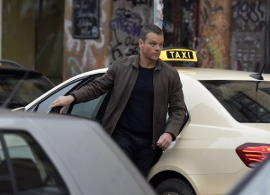 Matt Damon Films Fifth 'Bourne' Film In Berlin