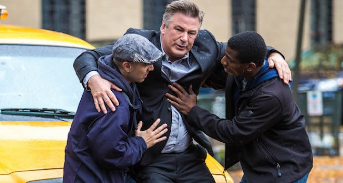 Alec Baldwin 'Hit' By Cab On 'Blind' Set In NYC