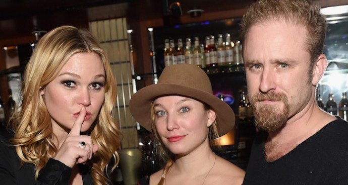 Julia Stiles And Ben Foster Attend 24 Hour Plays On Broadway After Party