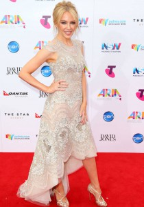 Kylie Minogue Dazzles At 2015 ARIA Awards