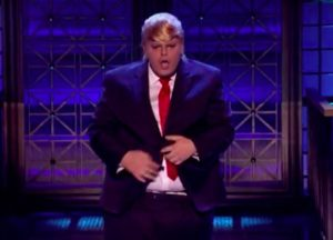 Josh Gad Dresses Up As Donald Trump, Sings 'I Touch Myself' & Kisses Johnny Galecki On 'Lip Sync Battle'