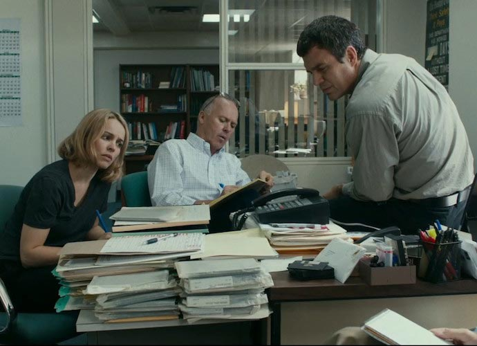 'Spotlight' takes home best picture Oscar
