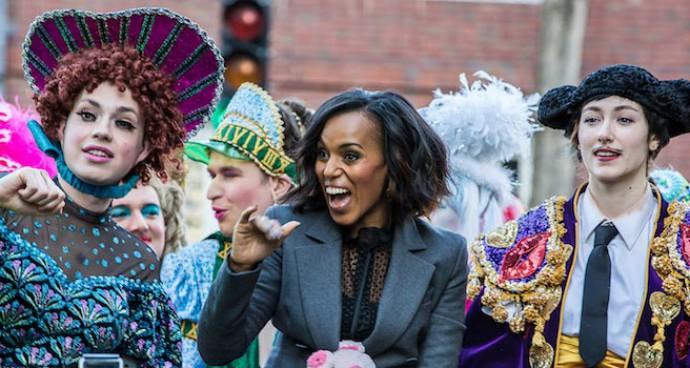 Kerry Washington Celebrated Her Hasty Pudding Induction At Harvard