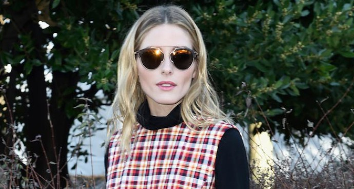 Olivia Palermo Dresses In Head-To-Toe Dior At PFW
