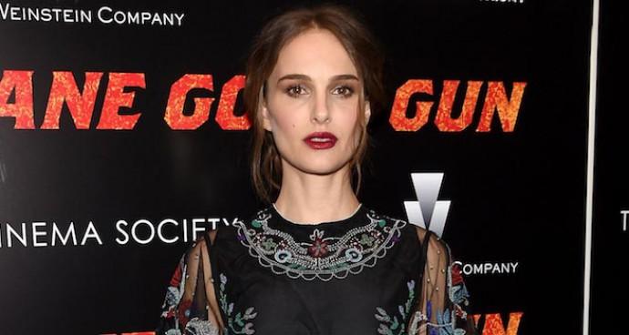 Natalie Portman Rocks Valentino To 'Jane Got A Gun' Premiere