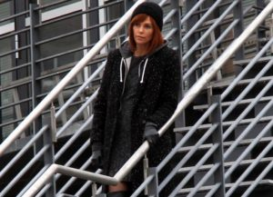 Charlize Theron Goes Red To Film 'The Coldest City'