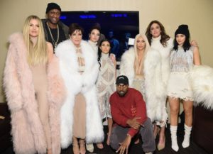 Lamar Odom Accompanies Kardashian Family To Kanye West's Fashion Show, Album Release Event