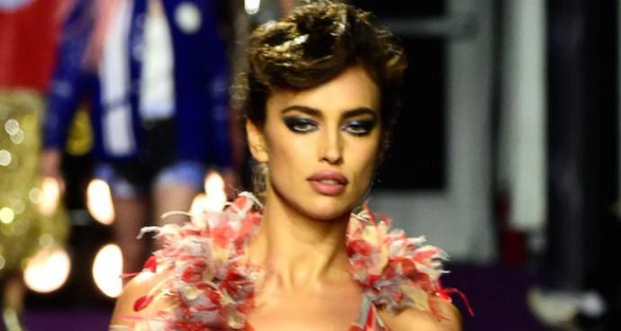 Irina Shayk Models Marc Jacobs At Zoolander 2's NYC Premiere