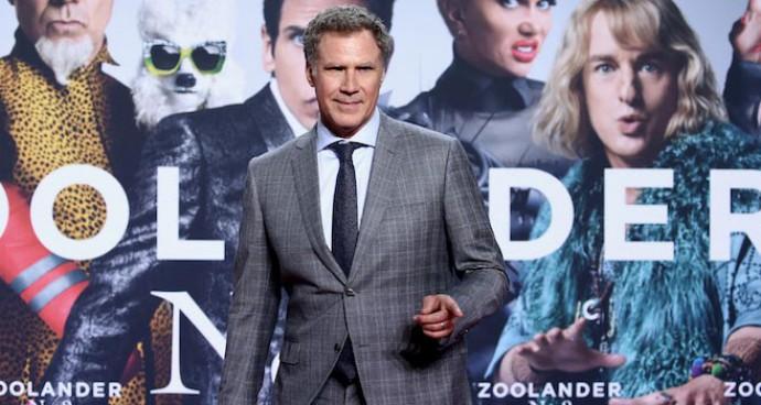 Will Ferrell Attends 'Zoolander 2' Screening In Berlin