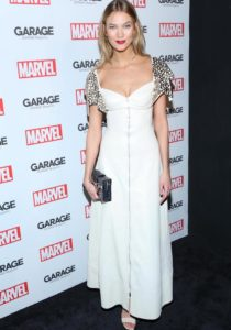 Karlie Kloss Wears Louis Vuitton At Marvel & 'Garage' Mag Party