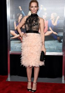 Leslie Mann Wore Marchesa To 'How To Be Single' Premiere