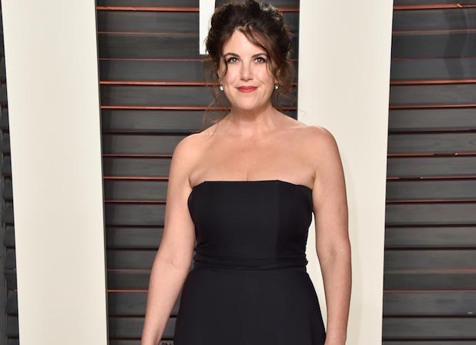 ... Oscar Party - Monica Lewinsky at the Vanity Fair Oscar Party Full view