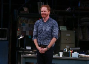 Jesse Tyler Ferguson Takes A Bow On 'Fully Committed's Opening Night