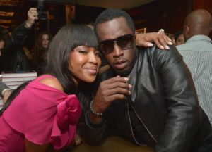 Naomi Campbell Caught Up With Sean Combs At L.A. Book Signing