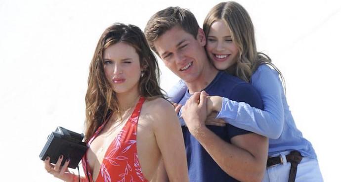 Bella Thorne, Taylor John Smith & Halston Sage Film 'You Get Me'