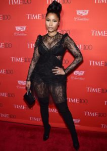Nicki Minaj Goes Bold With Lace Look At 'Time' 100 Gala