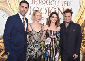 'Alice Through The Looking Glass' Stars Strike A Pose At Film's Premiere