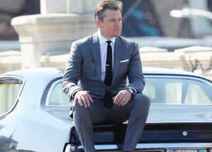 Matt Damon Poses For 'GQ' Photoshoot In LA