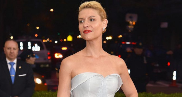 Claire Danes Wows In Fiber-Optic Gown At Met Gala