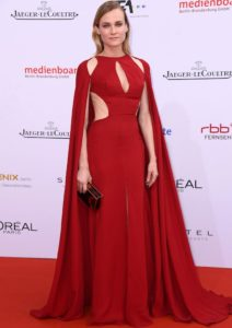 Diane Kruger Rocks Red Naeem Khan Dress To Lola Awards