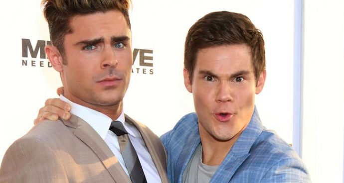 Zac Efron And Adam Devine Have A Blast At 'Mike And Dave Need Wedding Dates' Premiere
