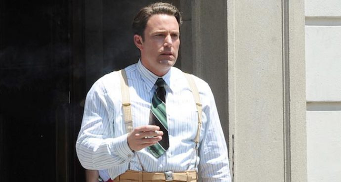Ben Affleck Films 'Live By Night' In Pasadena