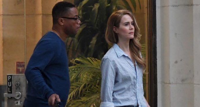 Cuba Gooding Jr. Shoots Scenes For New Project With 'American Crime Story' Costar Sarah Paulson