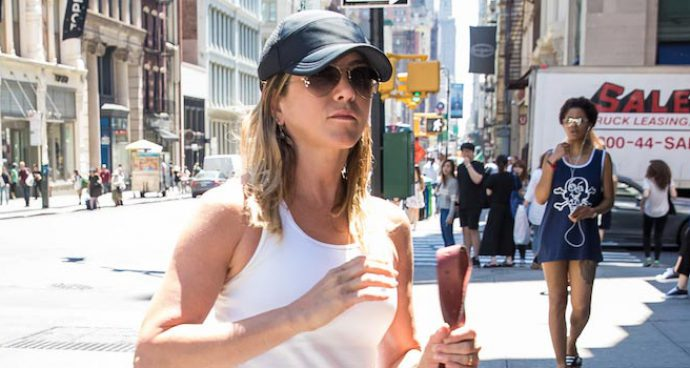Jennifer Aniston Steps Out In NYC After Shutting Down Pregnancy Rumors