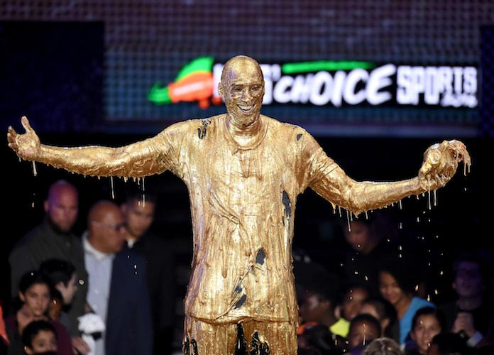 Nickelodeon Slime Time Kobe Bryant Gets Drenc...