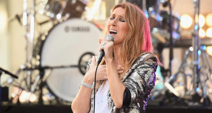 Celine Dion Performs On NBC's 'Today' Show