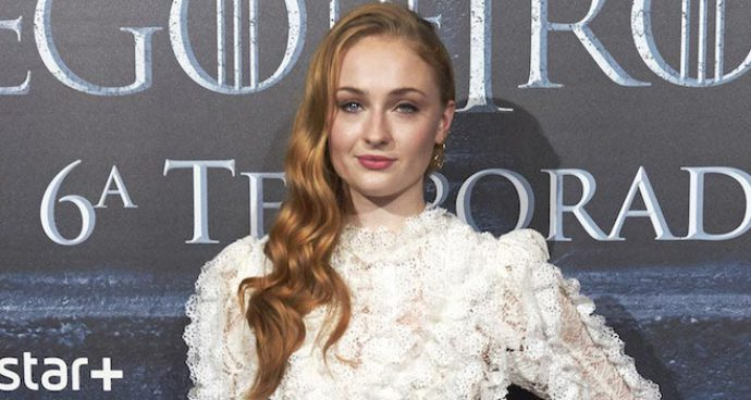 Sophie Turner Turned Up In Louis Vuitton At 'Game Of Thrones' Fan Event