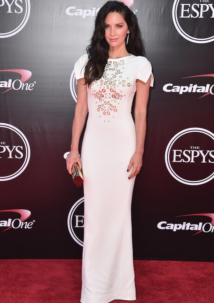 Olivia Munn Attends ESPY Awards In Antonio Berardi Gown