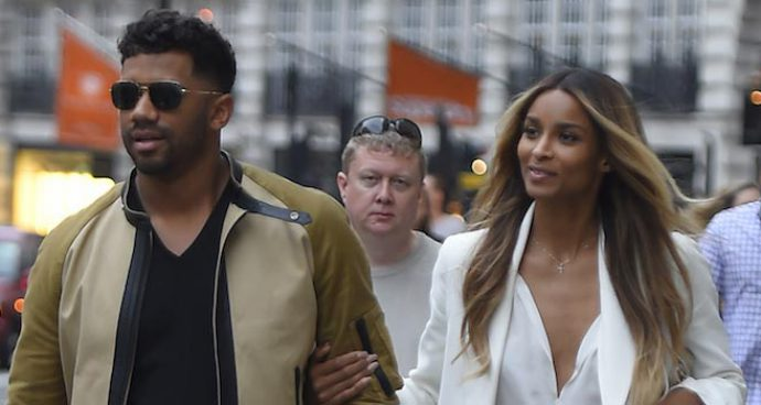Russell Wilson And Ciara Go Shopping In London Day After Their Wedding