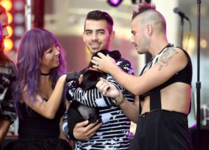 DNCE Played With A Puppy Onstage During 'Today' Show Appearance