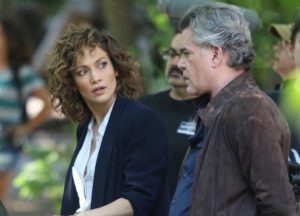 Jennifer Lopez & Ray Liotta Film 'Shades Of Blue' In New York City