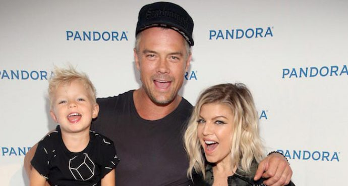 Josh Duhamel & Fergie Bring Son Axl Jack To Pandora Summer Crush