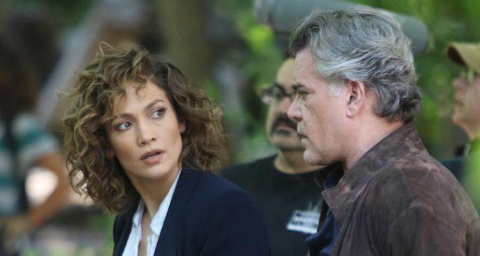 Jennifer Lopez & Ray Liotta Film 'Shades Of Blue' In New York City