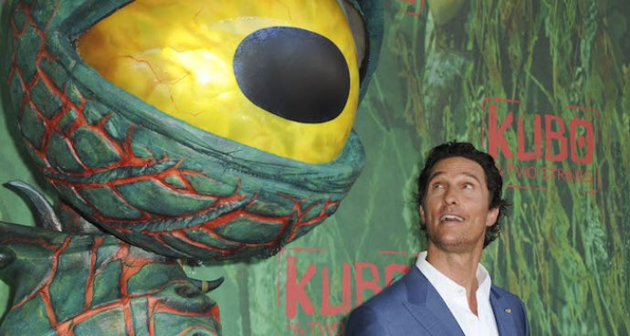 Matthew McConaughey Attends The Kubo And The Two Strings' Premiere