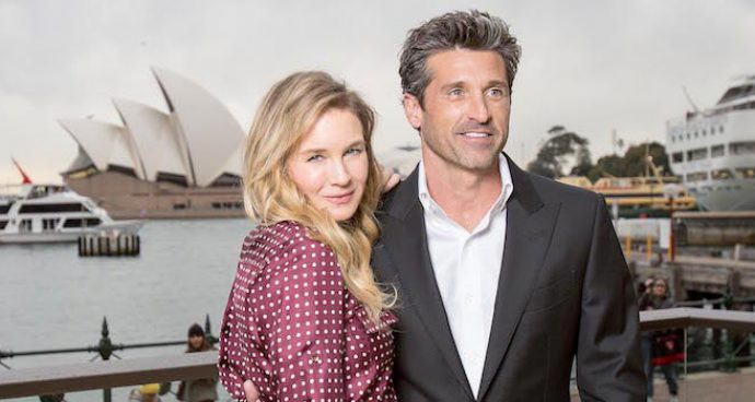 Renee Zellweger And Patrick Dempsey Promote 'Bridget Jones's Baby' In Sydney