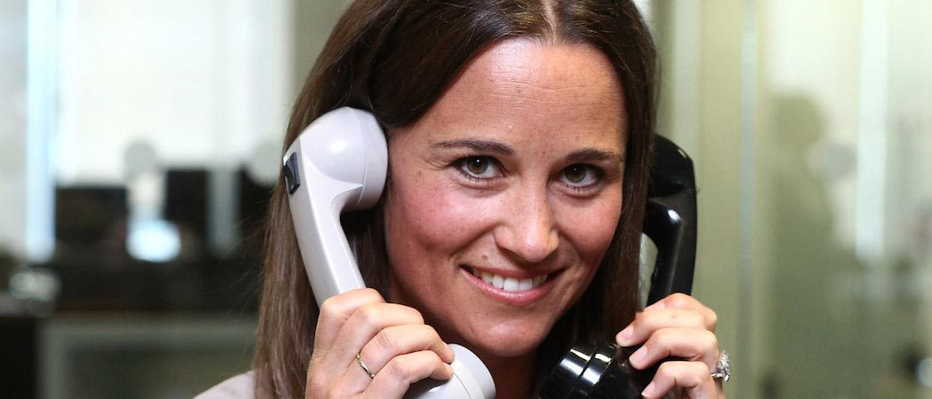 Pippa Middleton Flashes Engagement Ring At Global Charity Day