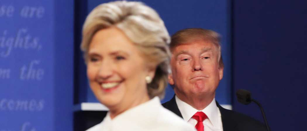 Hillary Clinton And Donald Trump Avoid Handshake At Third And Final Presidential Debate