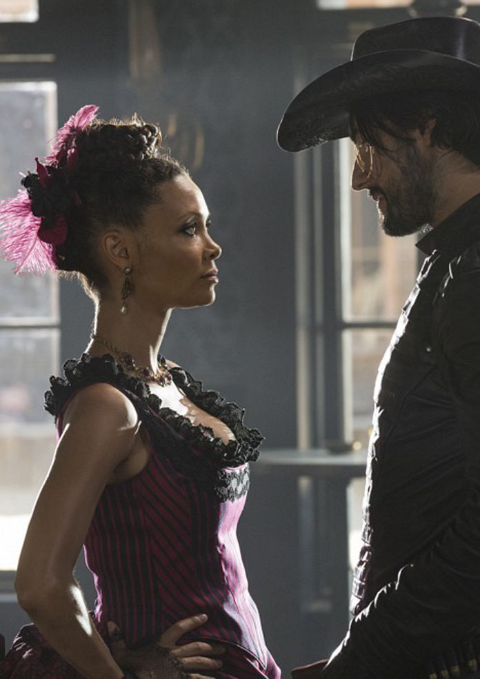 Thandie Newton as Maeve in 'Westworld'