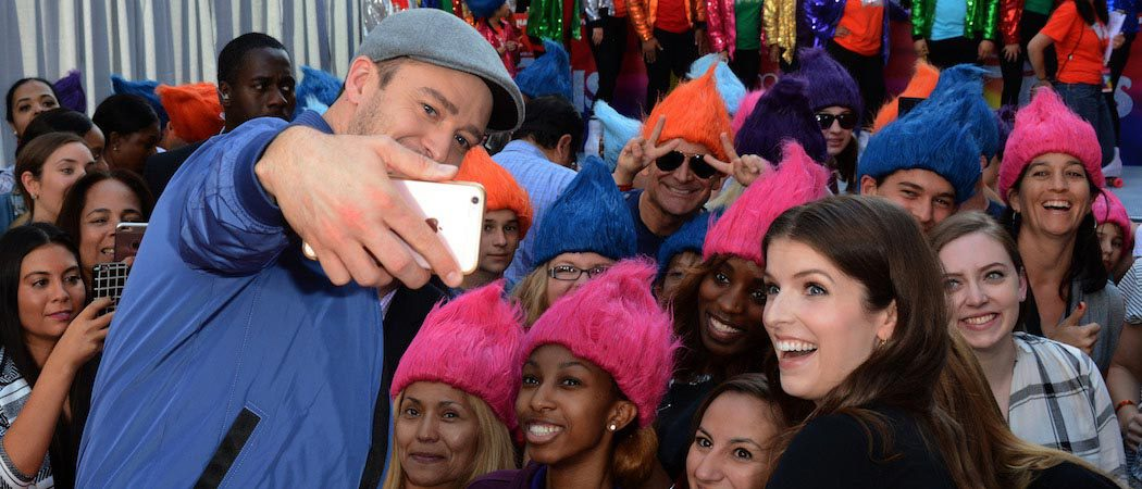 Justin Timberlake And Anna Kendrick Celebrate 'Trolls' In NYC