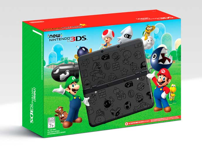 Two Mario-Themed New Nintendo 3DS Systems Will Launch On Black Friday At Discount