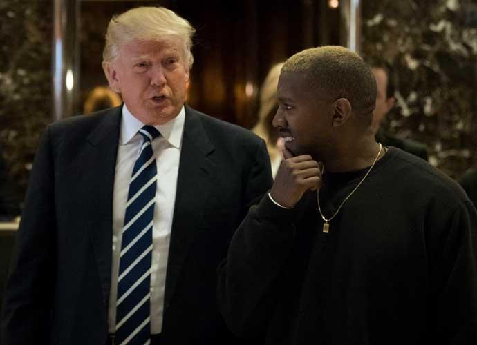 Donald Trump Meets Kanye West At Trump Tower
