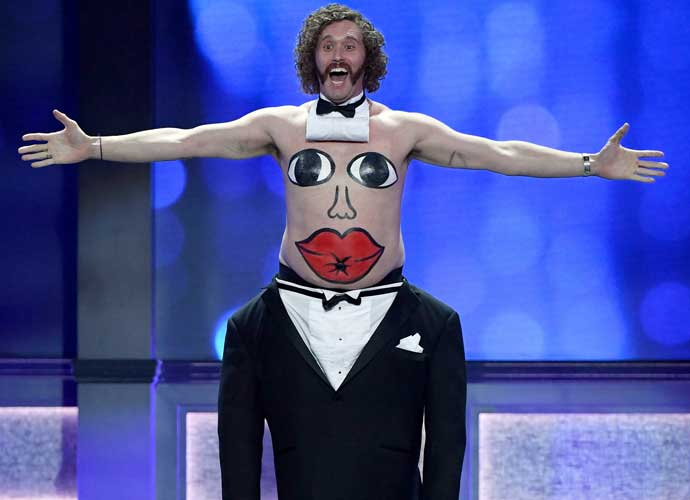 T.J Miller Hosts Critics' Choice Awards Just Three Days After Arrest